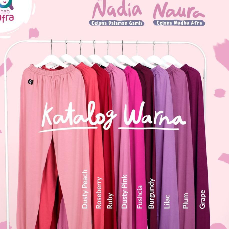 Kualitas Terbaik Nadia Celana Legging Dalaman Gamis By Jilbabafra Shopee Indonesia