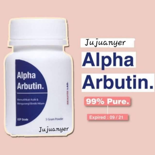 Alpha arbutin 5 gram Murni Canada Whitening