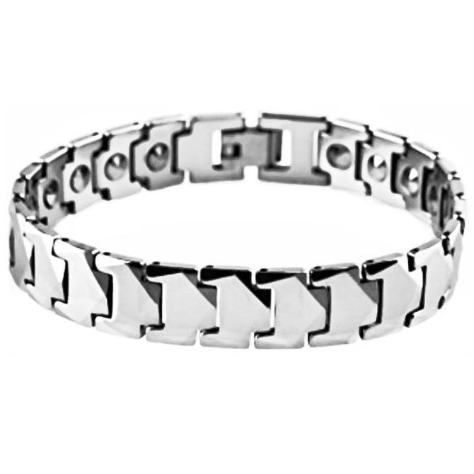 Men's Jewelry Square Healthy Fashion Magnetic Bracelet - Gelang Pria / Wanita / Pasangan Couple -. Source · Dapatkan Harga gelang kesehatan .