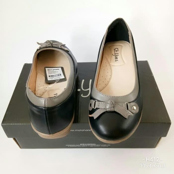Sepatu St Yves BK668CR704 sepatu wedges sepatu wanita sepatu branded  Cokelat Muda 36  82fc8139ce