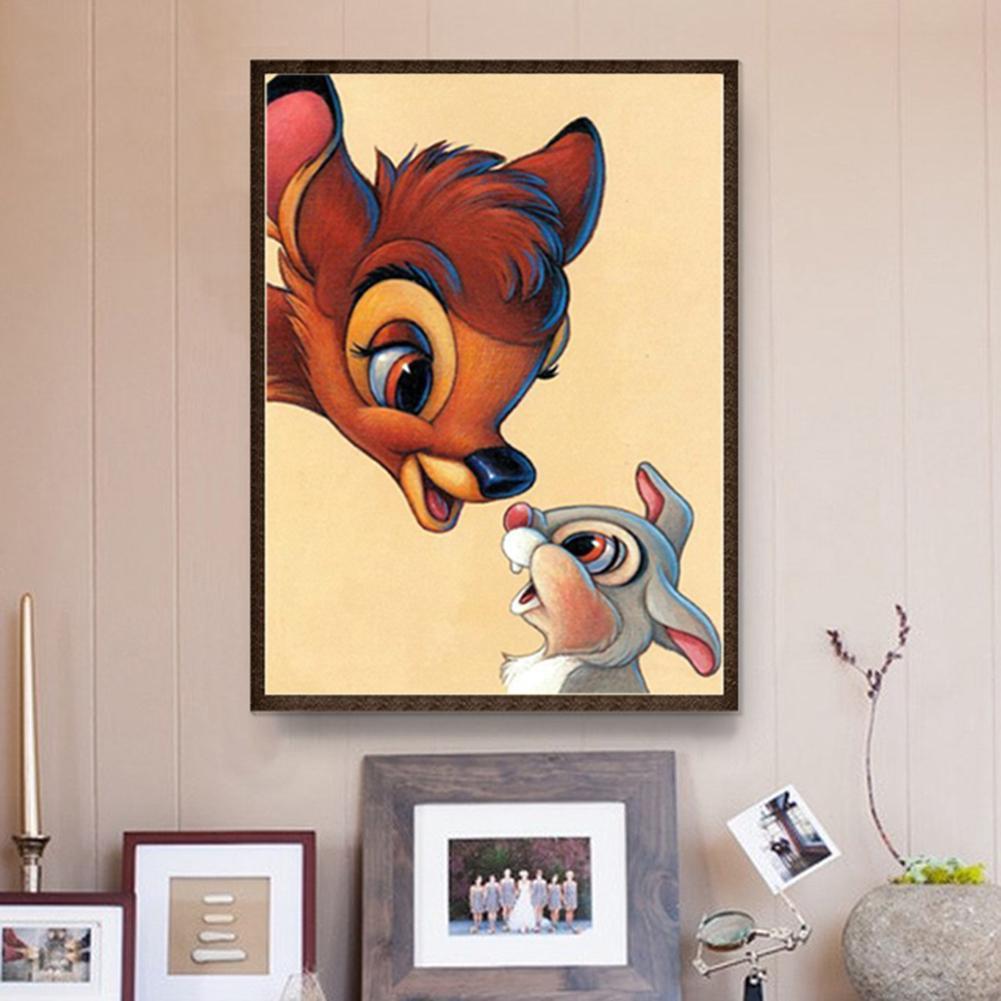 Gambar Lukisan Kartun Haiwan