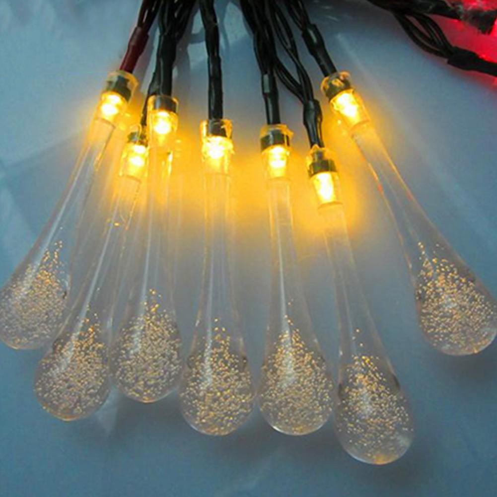 200 Led Solar Flashingpersistent Fairy String Lights Outdoor Powered Garden Decoration Light 100 12 Meter Lampu Hias Taman Decor Shopee Indonesia