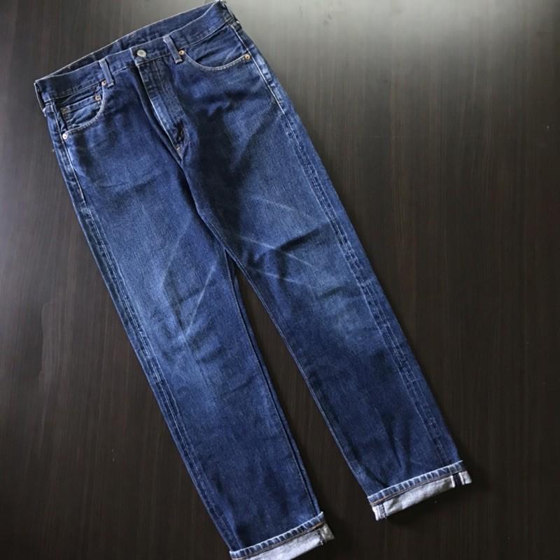 levis denim/jeans levis 502 selvedge