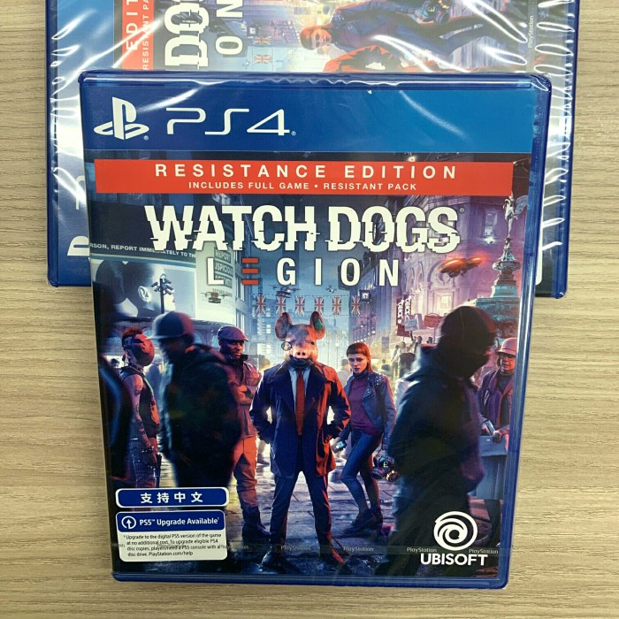 Ps4 Watch Dogs Legion Resistance Edition Shopee Indonesia