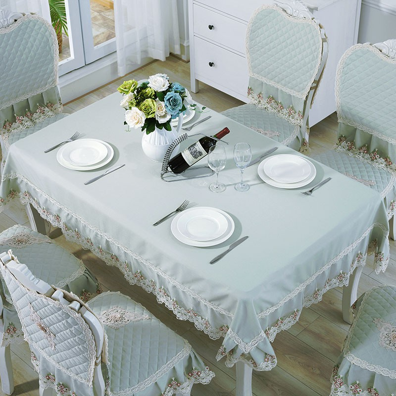 Dining Table Cloth Fabric Lace