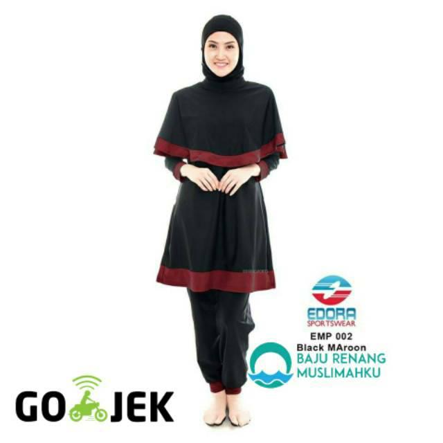 Baju Renang Muslimah Edora Sports  78087c30cb