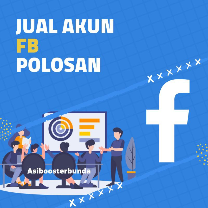[TERMURAH] Akun FB facebook kosongan polosan fresh