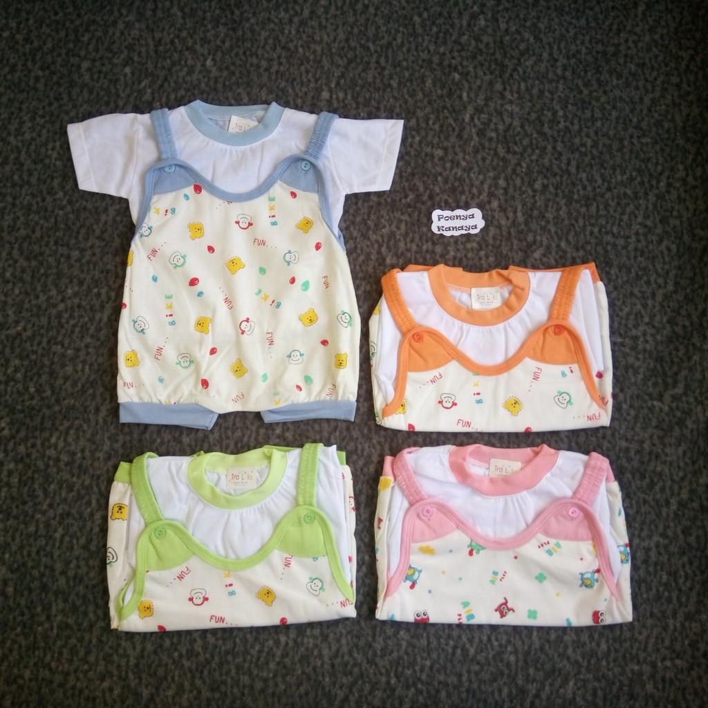 f9f29c672f86 BB03 Baju Bayi Tangan Panjang Polos Newborn Arimbi 0-3 Bulan ...