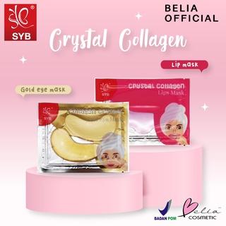 BELIA SYB Crystal Collagen Lip Mask Eye Mask ( BPOM) 6gr thumbnail
