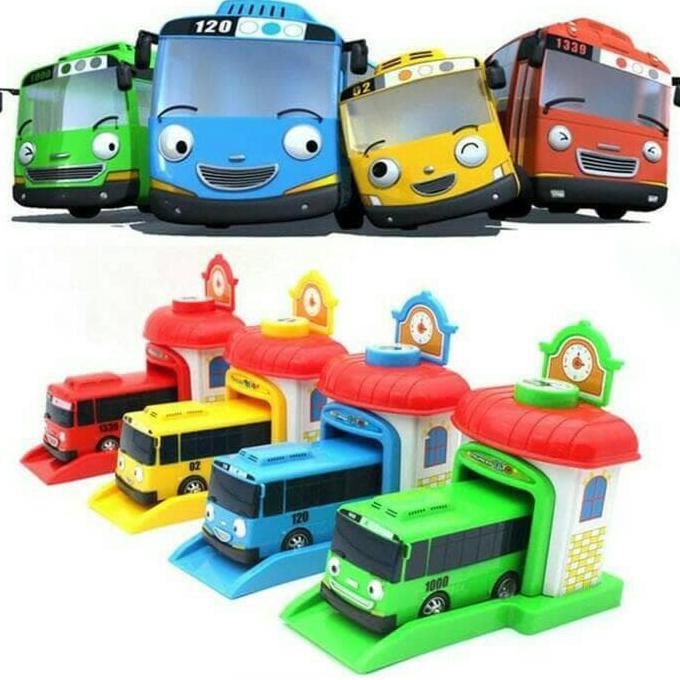 Jual Murah Mainan Anak Mobil Mobilan Tayo The Little Bus Garasi Set Shopee Indonesia