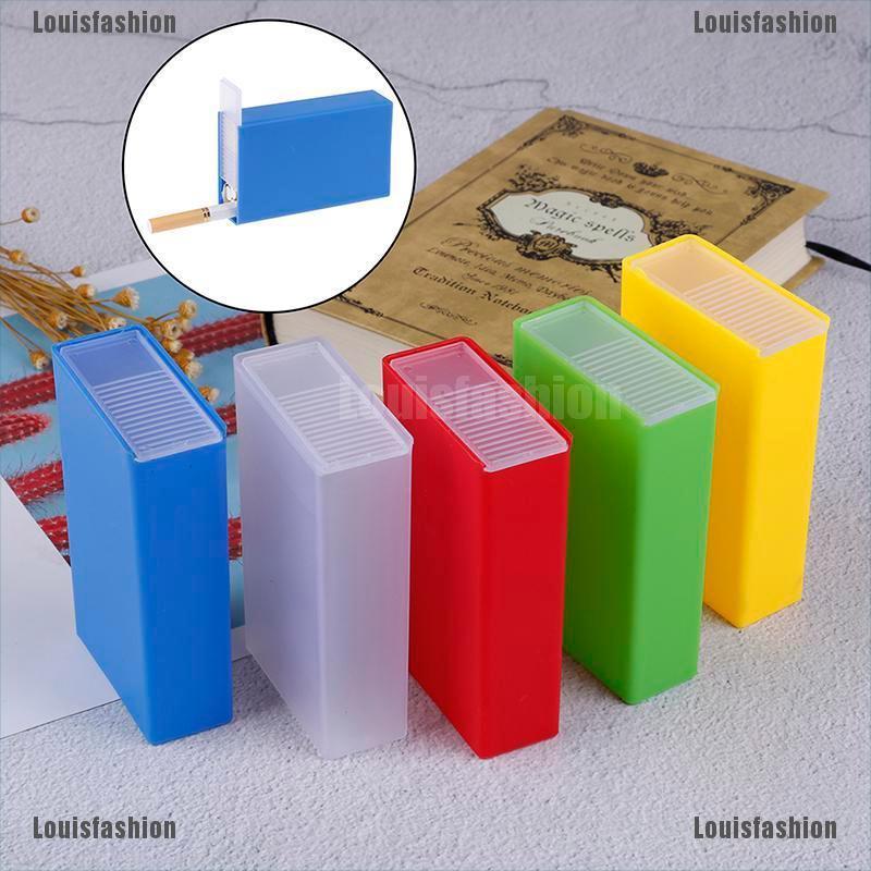 Louisfashion 1Pc Kotak Holder Rokok Bahan Plastik | Shopee ...