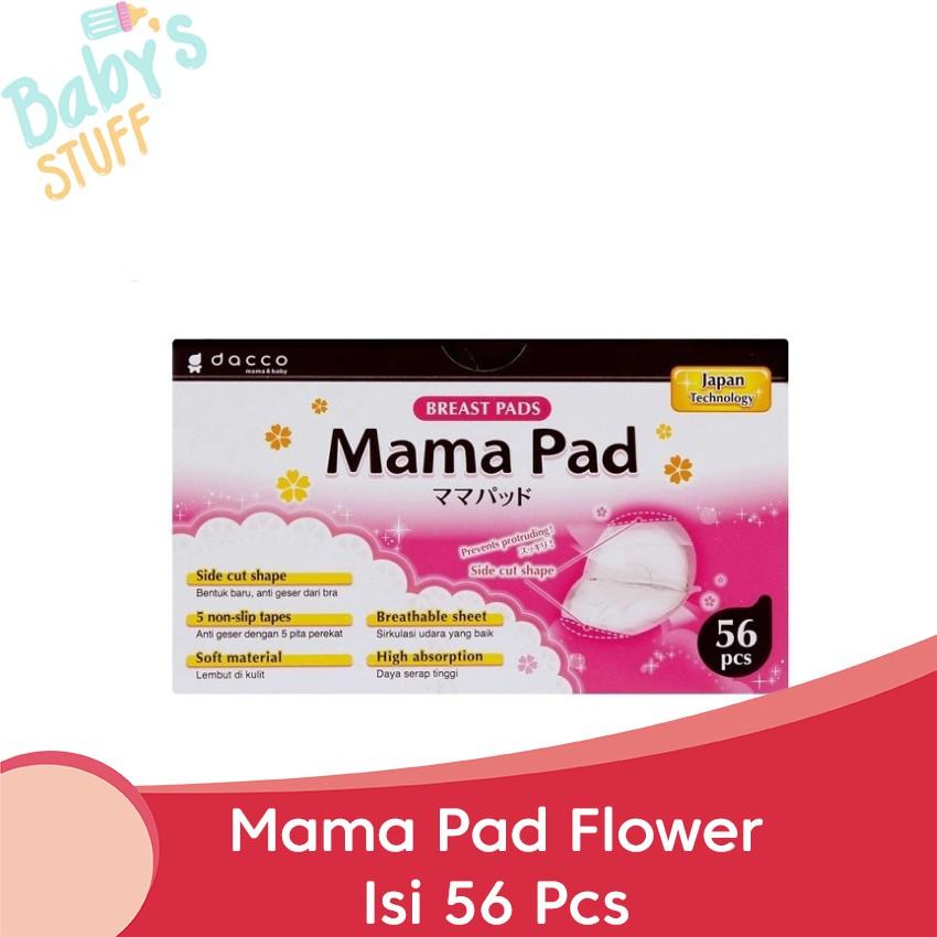 Image result for Breastpad Dacco Mamapad Mama Pad isi 56 Bukan Pigeon - Tanpa Bubble