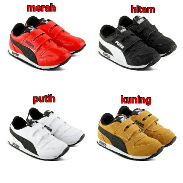 Sepatu Anak Kecil Kids Puma Rivet Import Shopee Indonesia