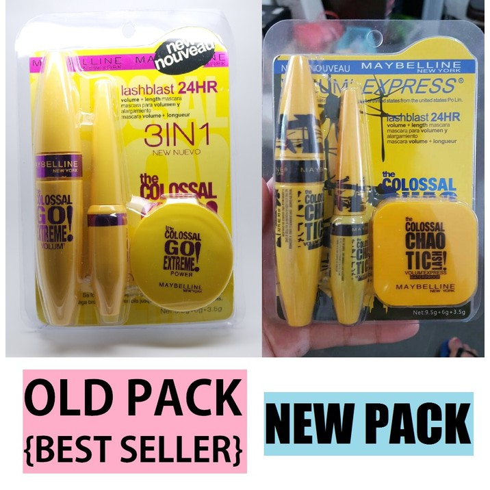 0f0b80a902f Promo Maybelline COLOSSAL 3IN1 SET MASCARA EYELINER POWDER 3 IN 1 | Shopee  Indonesia
