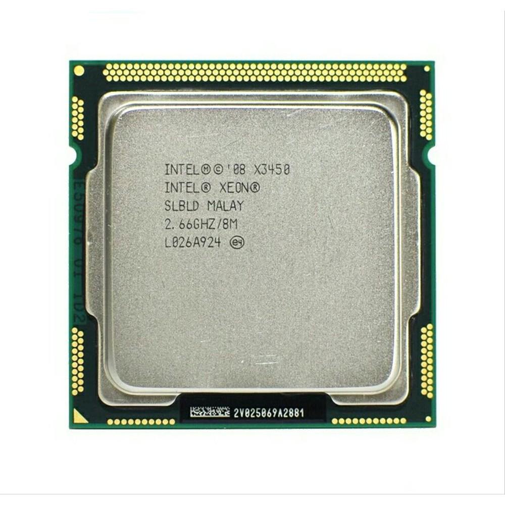 CPU Intel Xeon X3450 Quad-Core 2.66GHz LGA1156 Processor