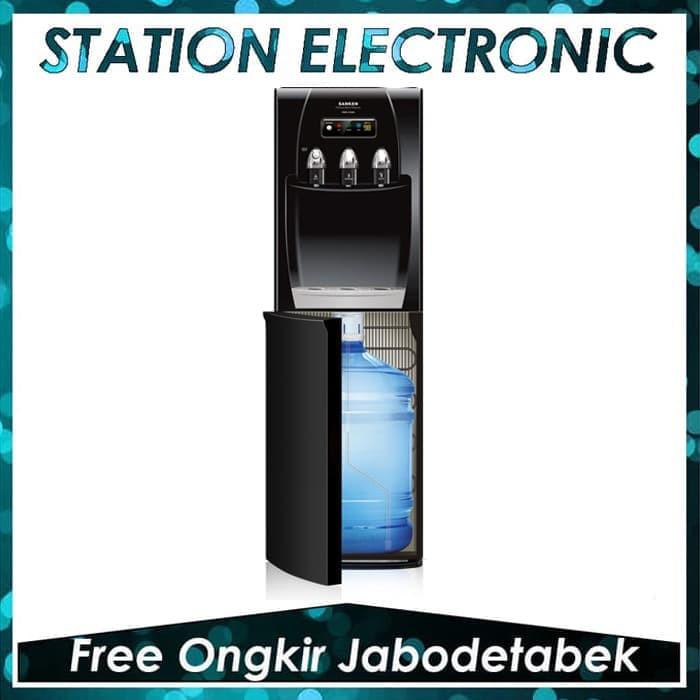 Sanken Dispenser Duo Galon HWD-Z96 Hitam JADETABEK ONLY | Shopee Indonesia