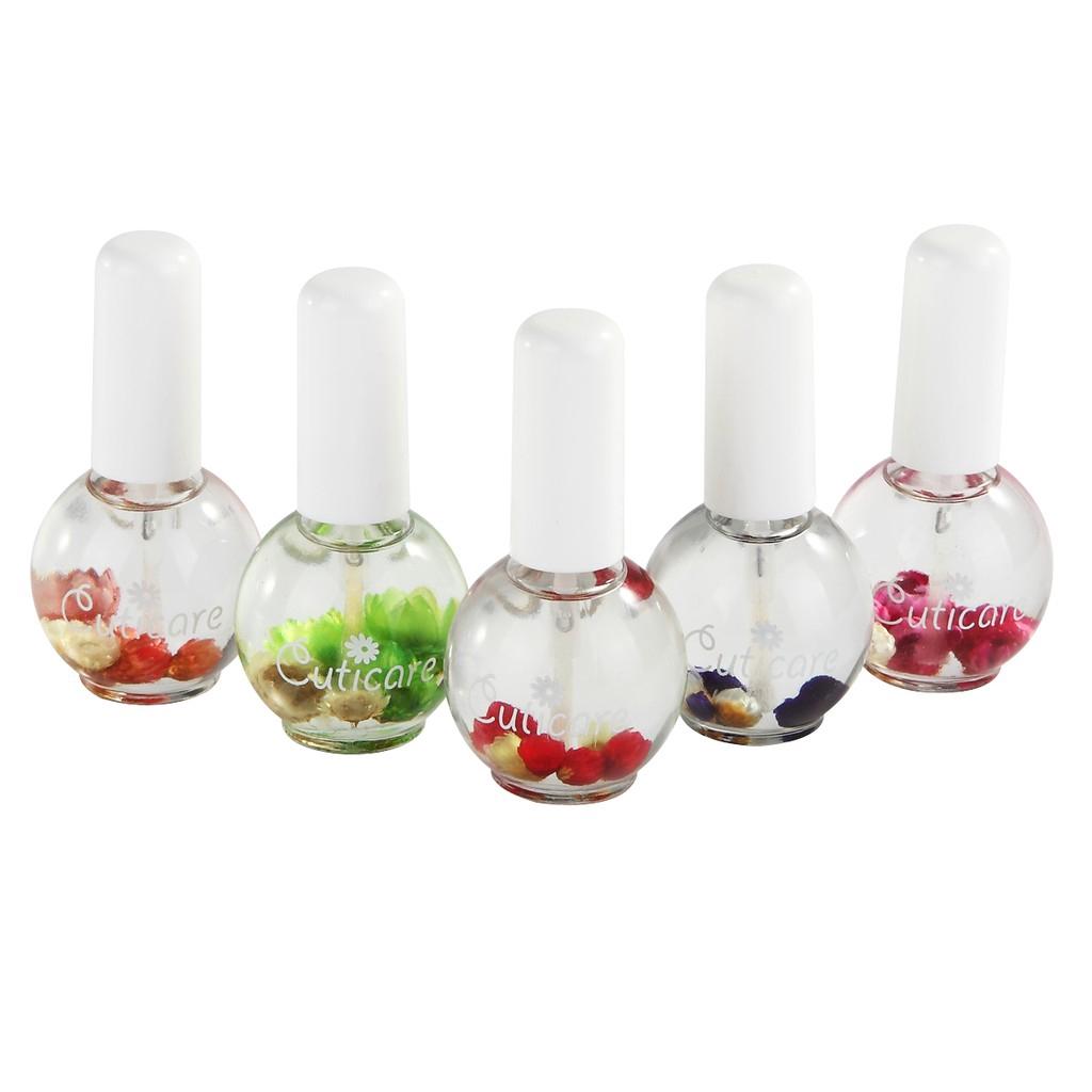 Nail Art Bunga: 15ml Minyak Perawatan Kuku Wangi Bunga Untuk Manicure