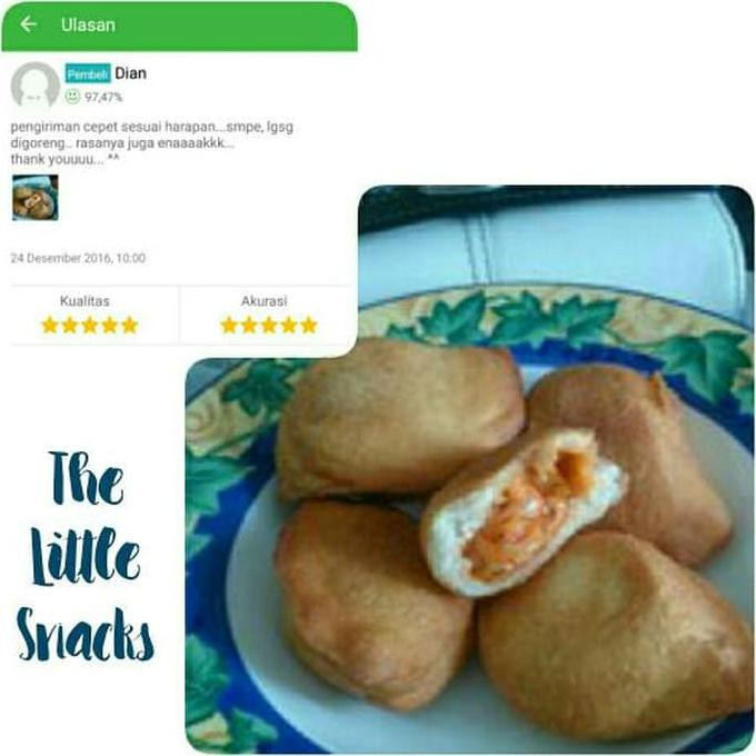 Pizza Goreng Indosaji Wajib JNE YES (Cemilan / Snack / Makanan Ri