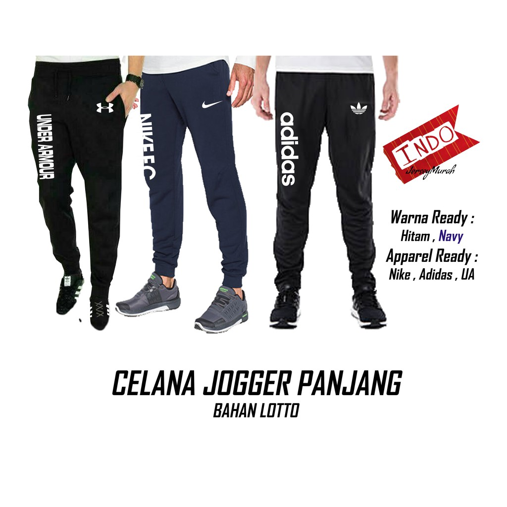 Celana Jogger Pants Sweatpants Training Under Armour Grade ORI GO | Shopee Indonesia