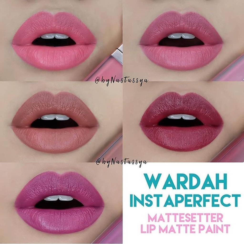 Original Lipstick Wardah Instaperfect Mattetitude Matte Stain Lip Shopee Indonesia