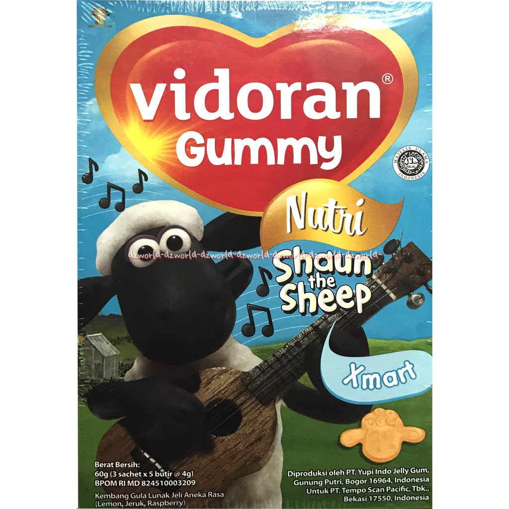 Vidoran Gummy Vitamin C 60 G Referensi Daftar Harga Terbaru Indonesia Hot  Yupi Fangs