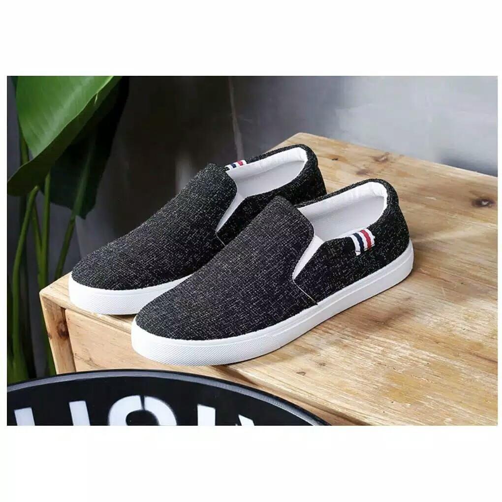 Ys16 Slip On Shopee Indonesia Azzura 622 08 Sepatu Sneakers Wanita