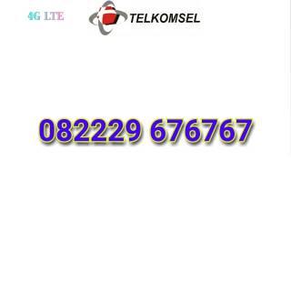 Simpati Loop 082229 676767 Nomor Cantik Telkomsel