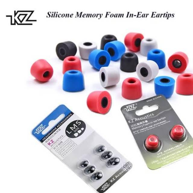 Kz Knowledge Zenith T400 Eartips Memory Foam Earphone For Zsn Zst Zs3 Zs6 Zs10 Pro Trn Dll Shopee Indonesia