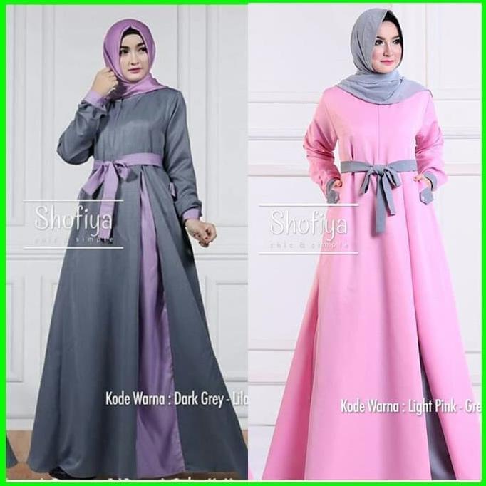 Stok Terbatas Dress Gamis Wanita Syari Jual Baju Muslim Hijab Jilbab Instan Khimar Turun Harga Shopee Indonesia