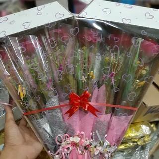 Bunga Buket Kecil 1 box isi 12 pcs | Shopee Indonesia