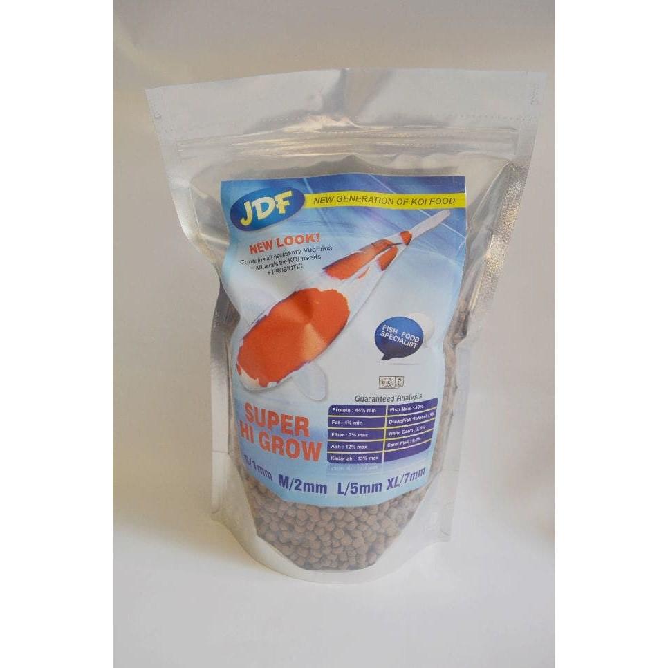 Pelet Makanan Ikan Koi JDF SUPER Hi Grow New Look 1kg ( size L )