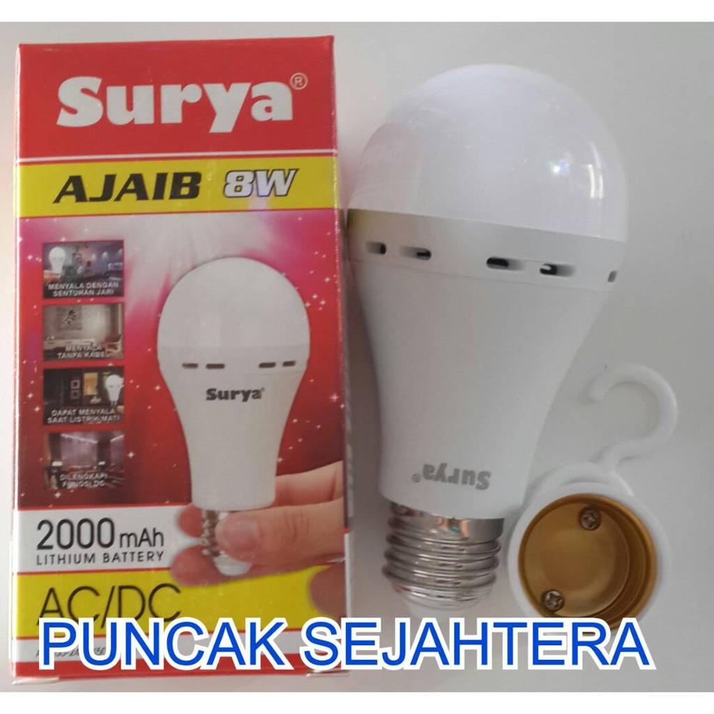 Lampu Led Emergency Arashi 7 Watt 7w Shopee Indonesia Hannochs Genius Ac Dc 10w