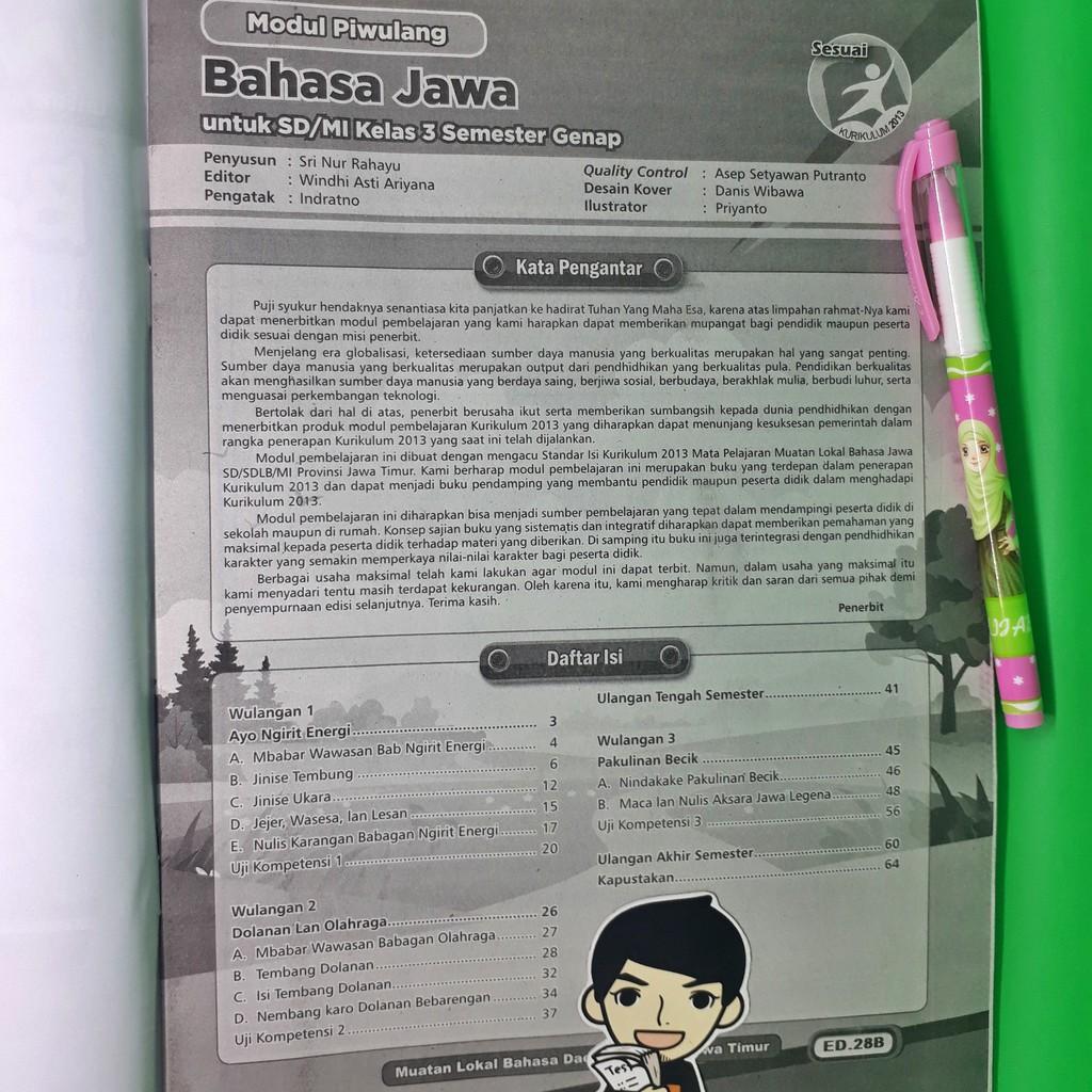 Buku Basa Jawa Kelas 3 Sd Ilmusosial Id