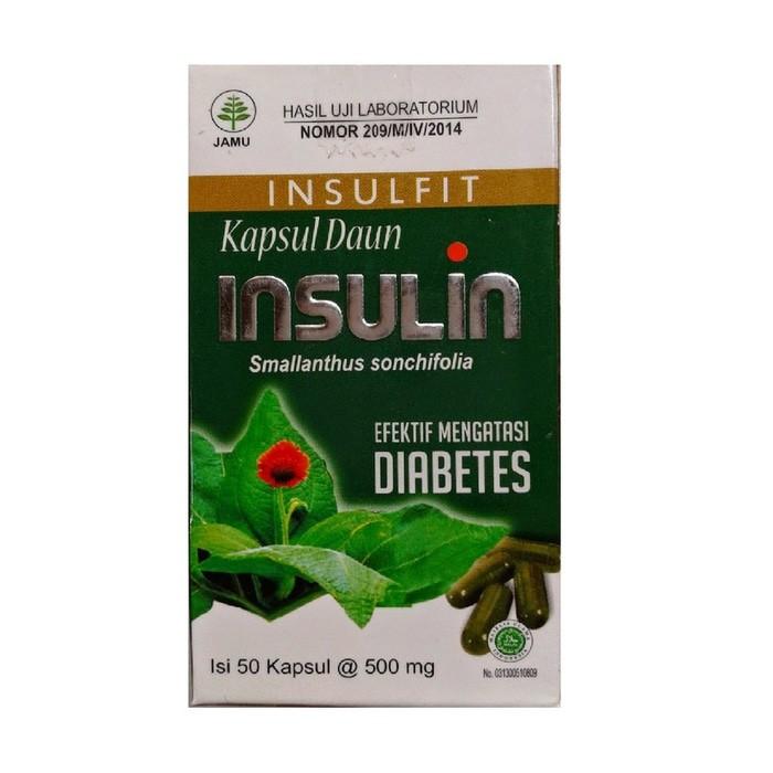 Herbal Diabetes Gula Darah - Kapsul Daun Yakon Insulin Alami Tanaman | Shopee Indonesia