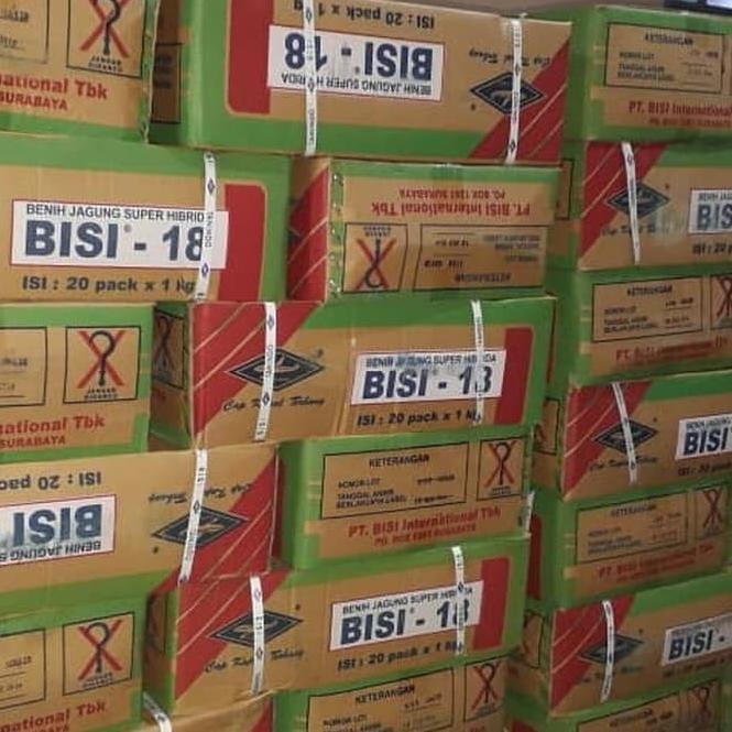[KODE VV5] Benih jagung hibrida Bisi 18 isi 1kg jagung bisi18 bibit jagung bisi 18
