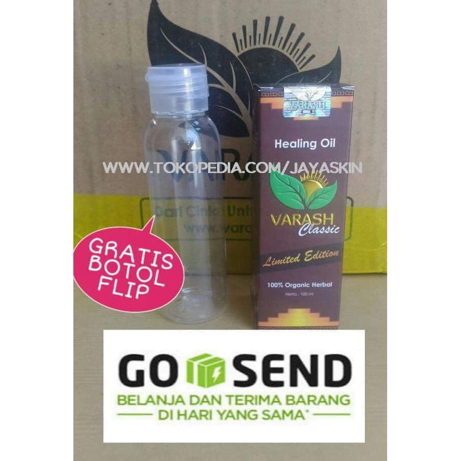Promo Diskon Varash Classic Healing Oil 100 Ml Minyak Original 100ml Free Botol Spray Asli Shopee Indonesia