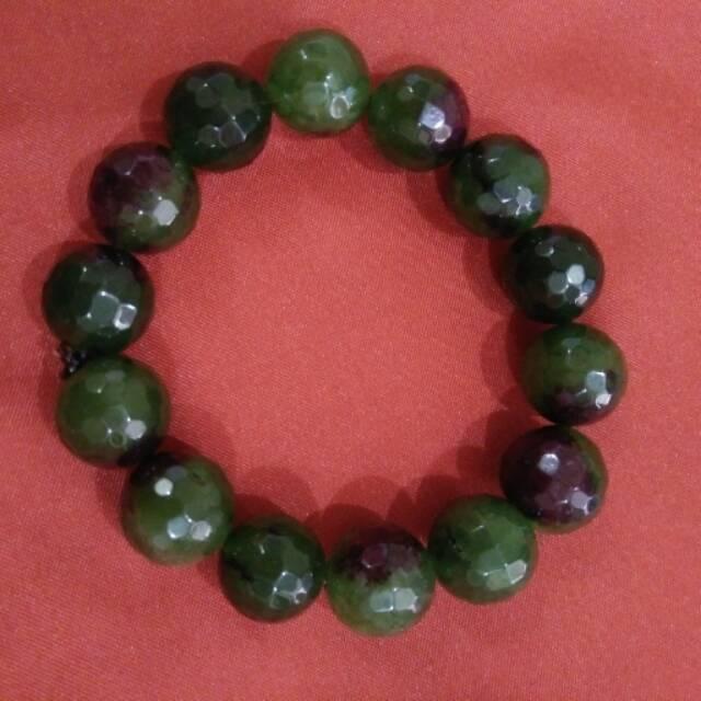A-KHA Paket Merdeka 3 Gelang Kesehatan Black Jade 8mm. Source · Gelang batu