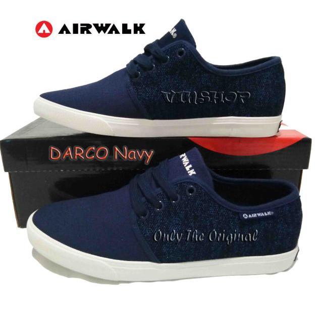 More Walk! Sepatu Airwalk Casual Eduard S Black Original Murah ... 8c74d6e280