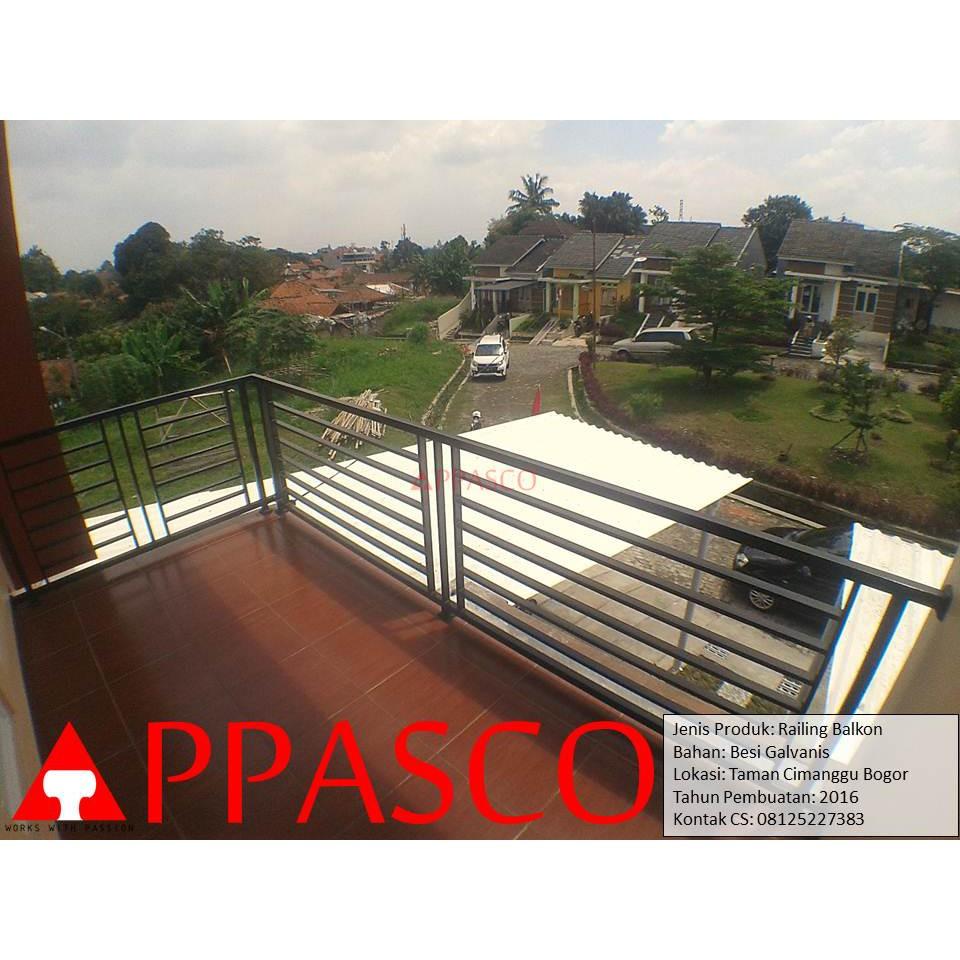 Railing Balkon Di Taman Cimanggu Bogor Shopee Indonesia