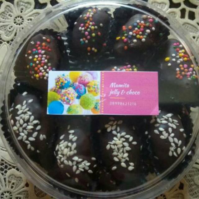 Kurcok Kurma Coklat Isi Keju Kue Coklat Kue Lebaran Shopee Indonesia