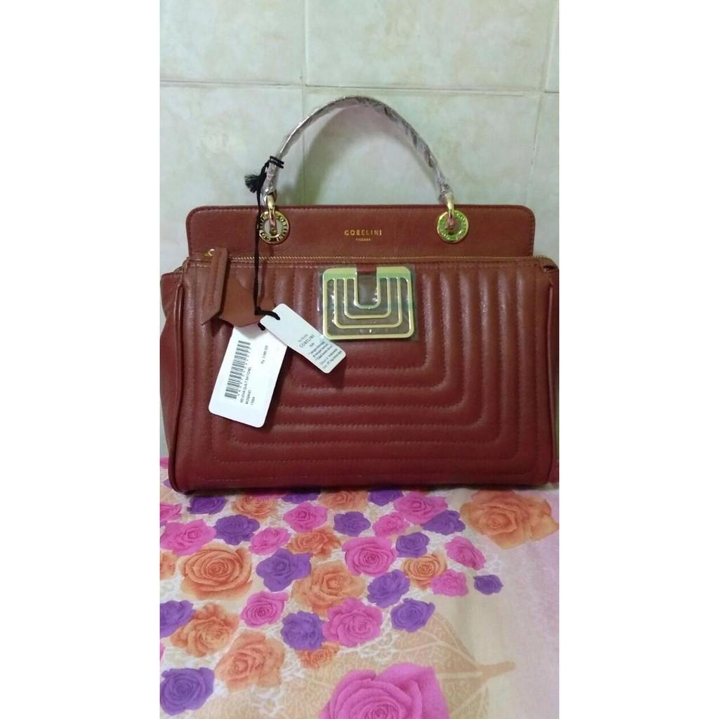 Gobelini Pomegrante Messenger Shopee Indonesia Goni Malvina Mini Top Handle Bag Pink Pearlized