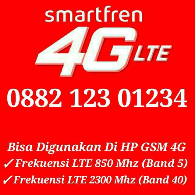 Nomor Cantik Smartfren Rc300sf4g 0882 123 01234 Shopee Indonesia