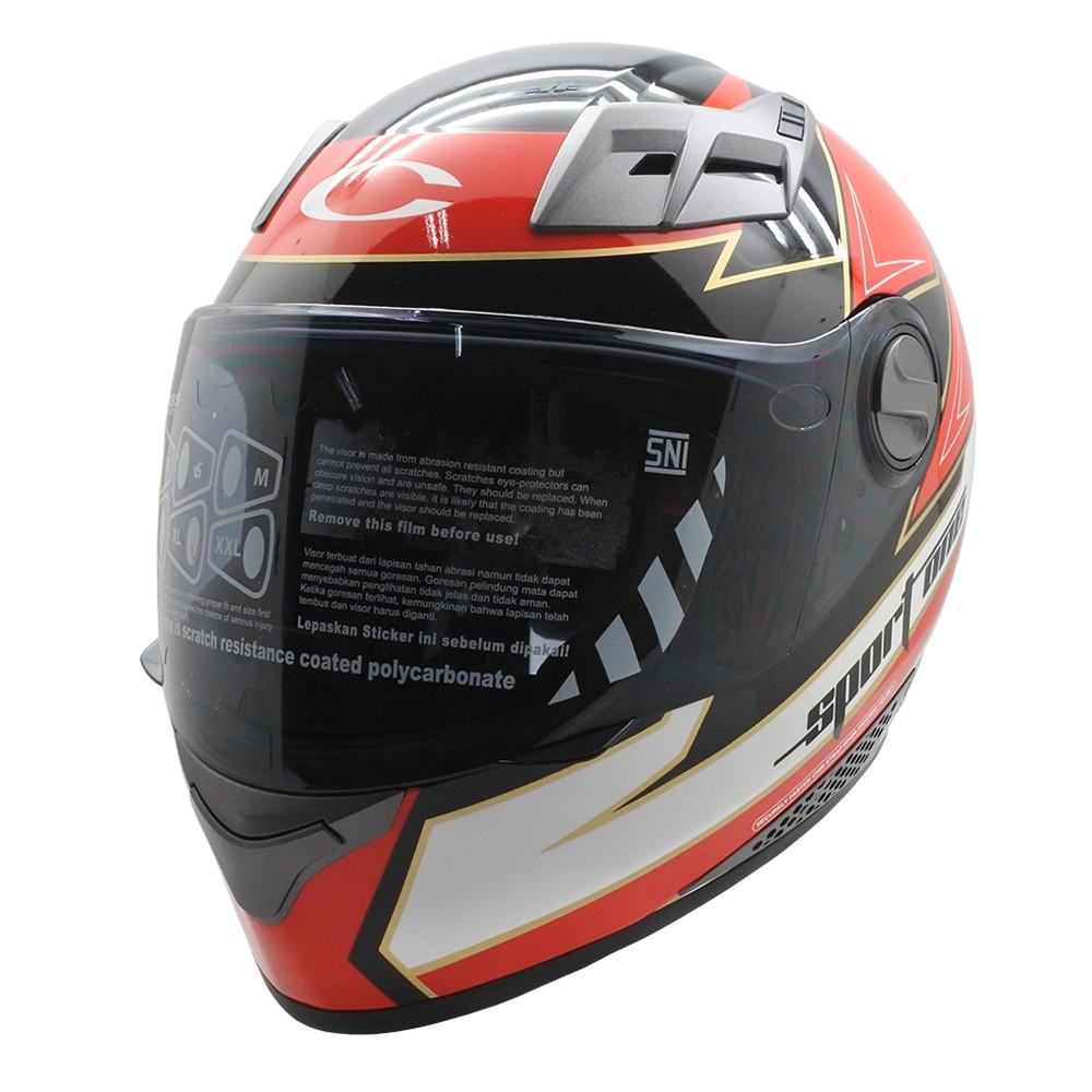 Helm Cargloss Mx Cross Xentury Full Face Orange Blue Black Mxc Pro Racing Motocross Sp Whity White Putih Size Xl Shopee Indonesia