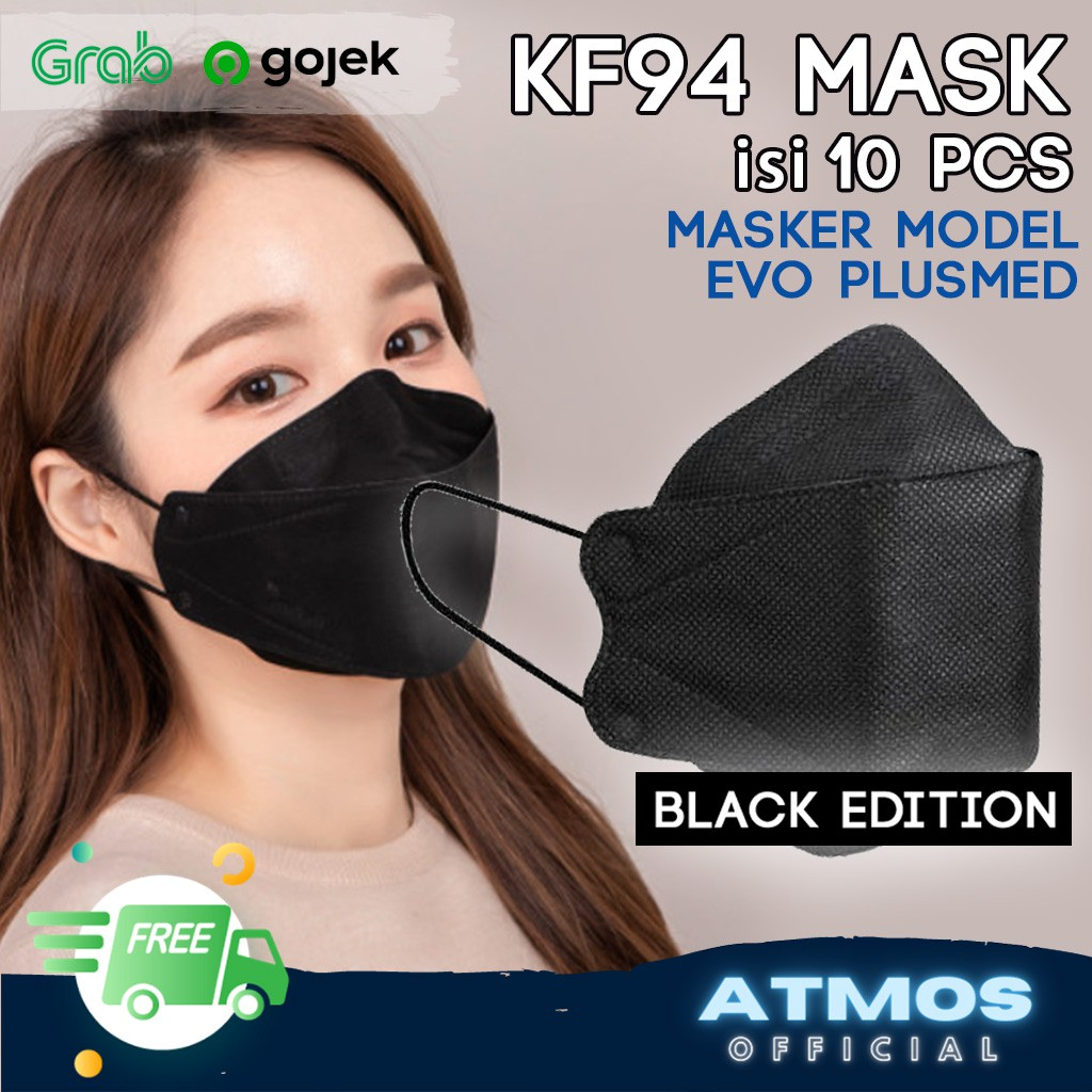 Masker KF94 Korea Version Original Murah Masker Evo KF94
