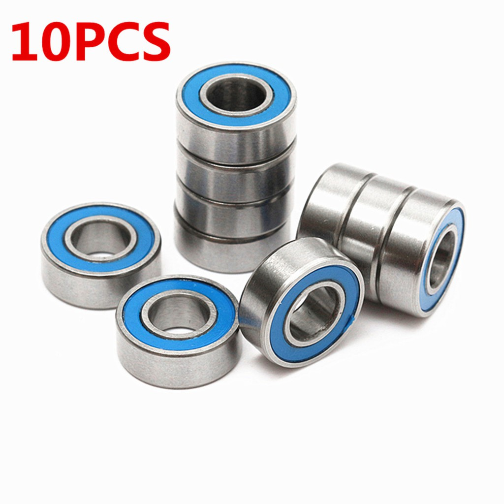 10PCS MR115 2RS Rubber Sealed Ball Bearings 5x11x4MM for Traxxas Slash