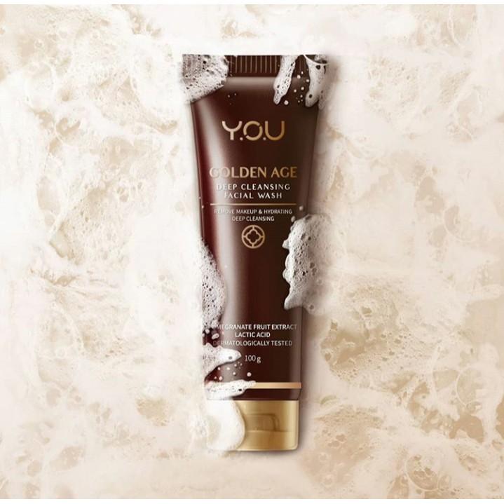 Y.O.U Golden Age Deep Cleansing Facial Wash