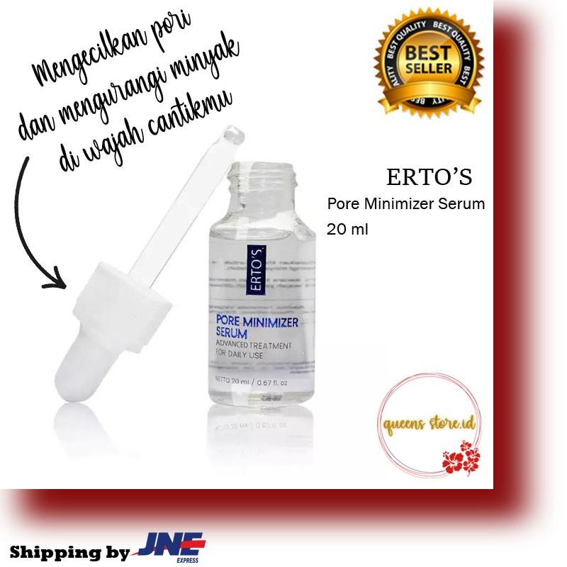 Ertos Pore Minimizer Serum Serum Pengecil Pori Original Bpom