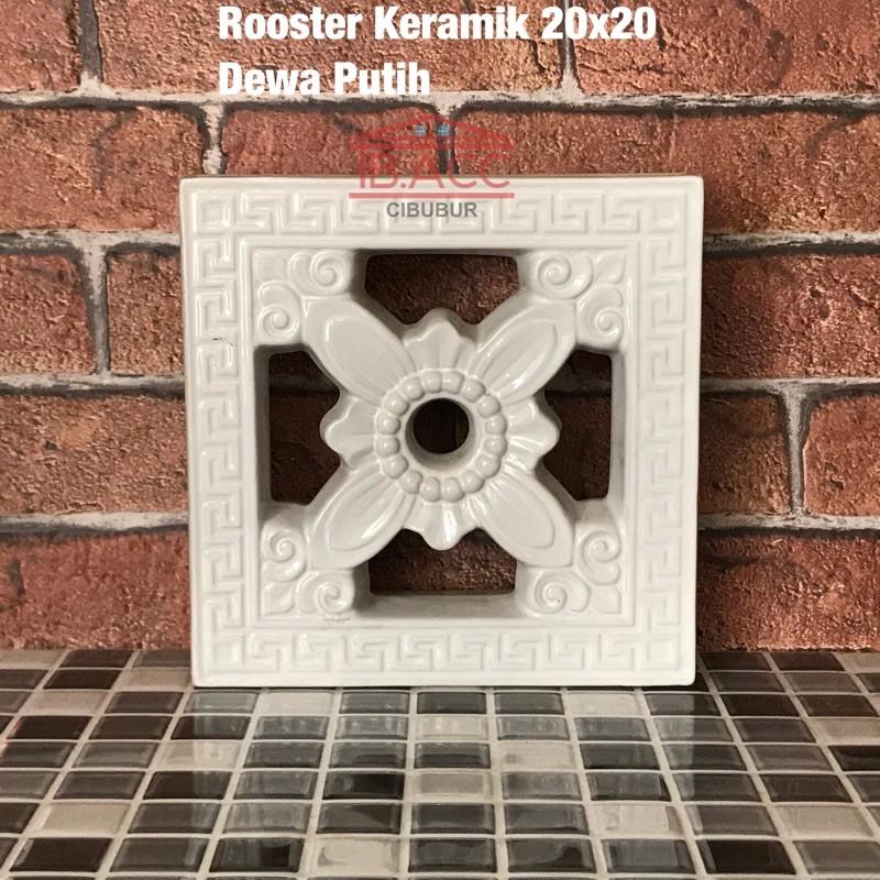 Roster / Lubang Angin Keramik Trisensa Dewa