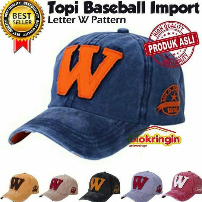 Baru Topi Snapback Baseball Cap Hitam Import Keren  9dbc8c29cf