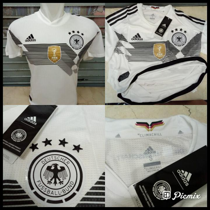 9dd5d44ab JERSEY BAJU KAOS ADIZERO JERMAN HOME WORLD CUP 2018 GRADE ORI GERMAN -